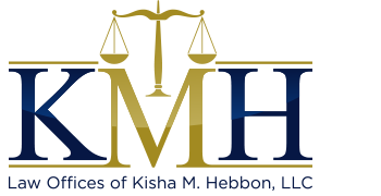 Law Offices of Kisha M. Hebbon, LLC Header Logo